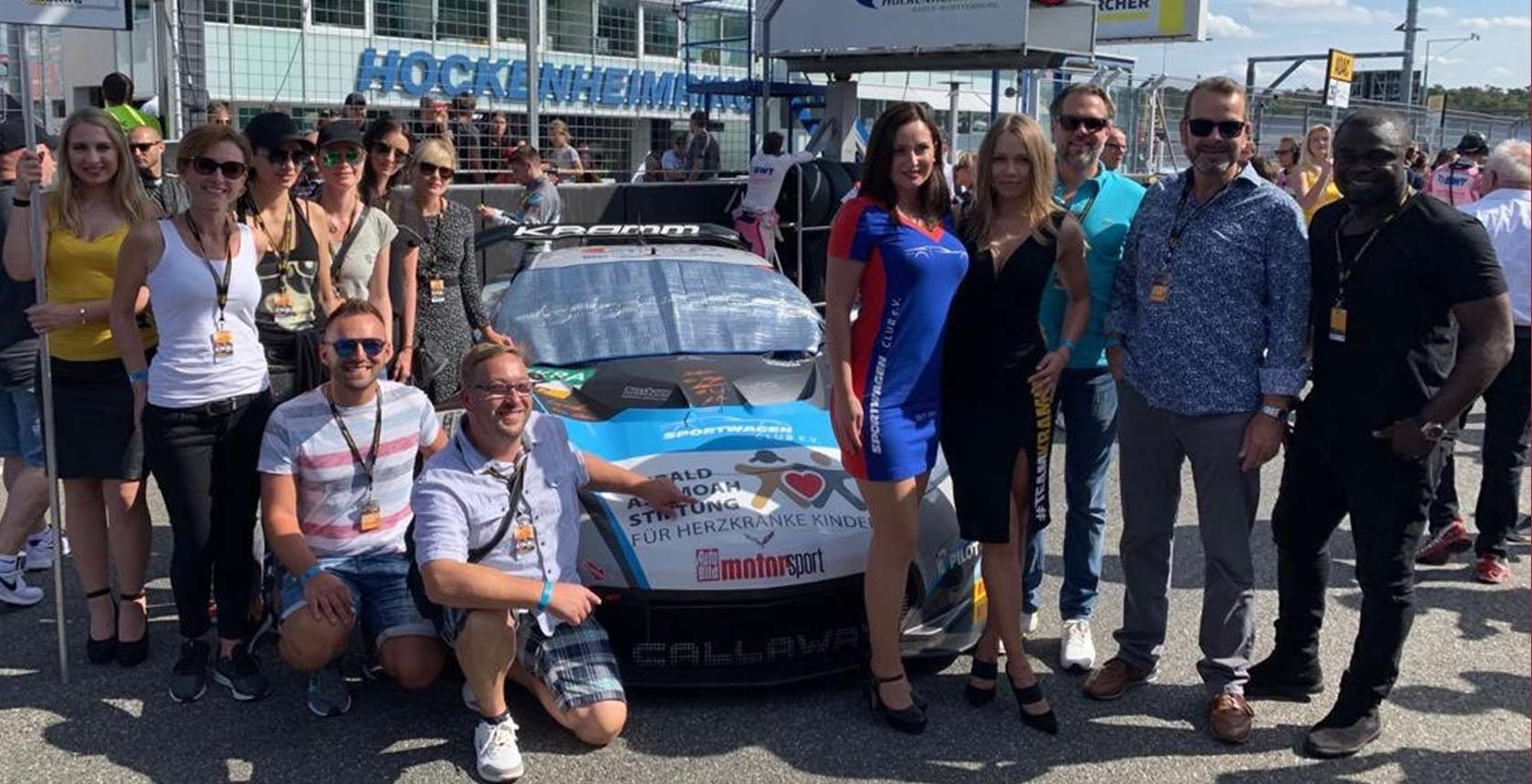 Two days filled with emotion! IKS was present at the ADAC GT Masters last weekend - in support of a good cause.