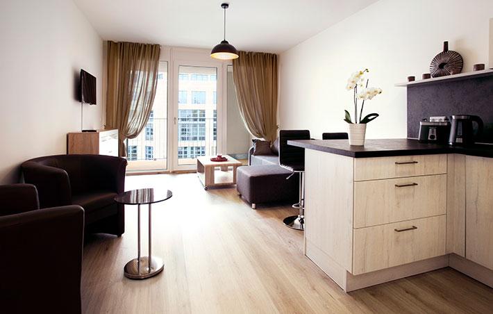 Apartmenthaus Kohlgartenstrasse Balkonaussicht