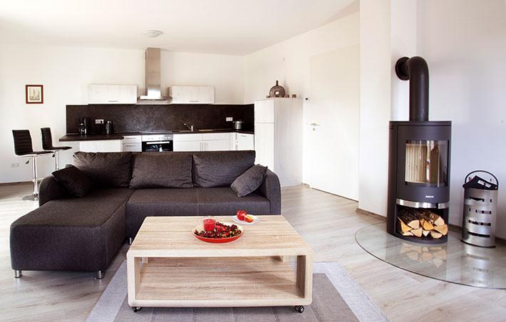 Apartmenthaus Kohlgartenstrasse Küche