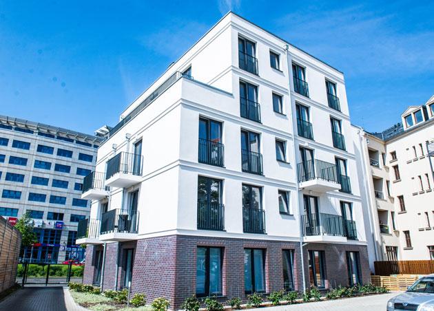 Apartmenthaus Kohlgartenstrasse Hofansicht