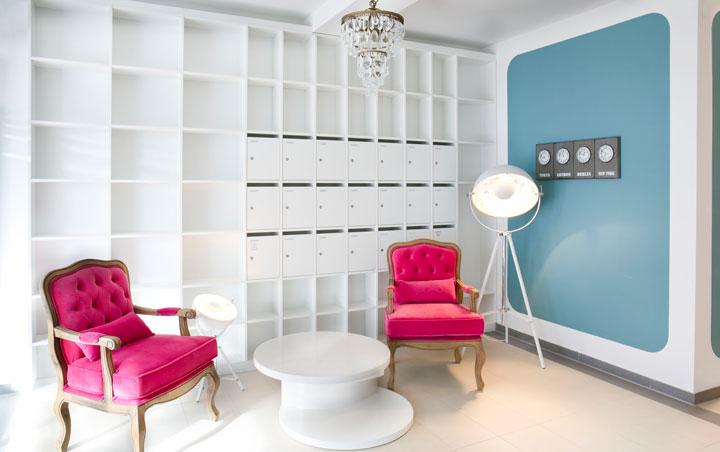 Apartmenthaus Kohlgartenstrasse Bibliothek
